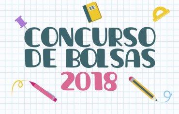 Concurso de Bolsas para 2018